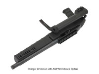 AGP Arms Lightweight Folding MicroBrace Kit w/ T Block - Designed for 22 Charger™ w/ .920 Bull Barrel