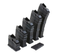 2, 4, 6, 8, 10 round magazine with external floor plate
