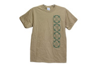 AGP Arms T Shirt Tan