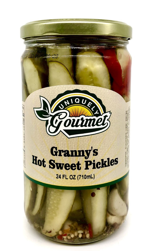 Granny's Hot Sweet Pickles - Uniquely Gourmet