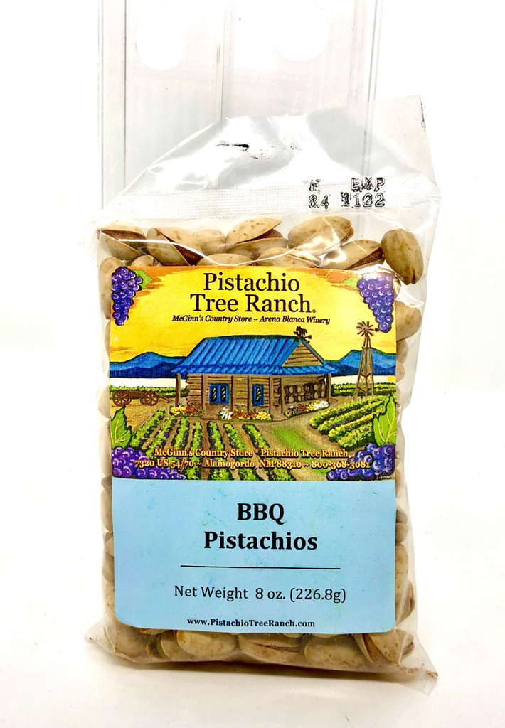 BBQ In-Shell Pistachios 8 oz.