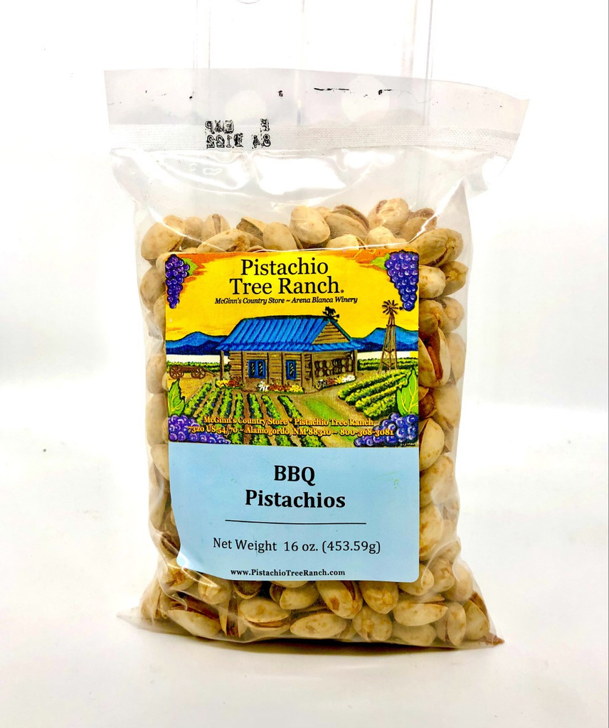 BBQ In-Shell Pistachios 16 oz.