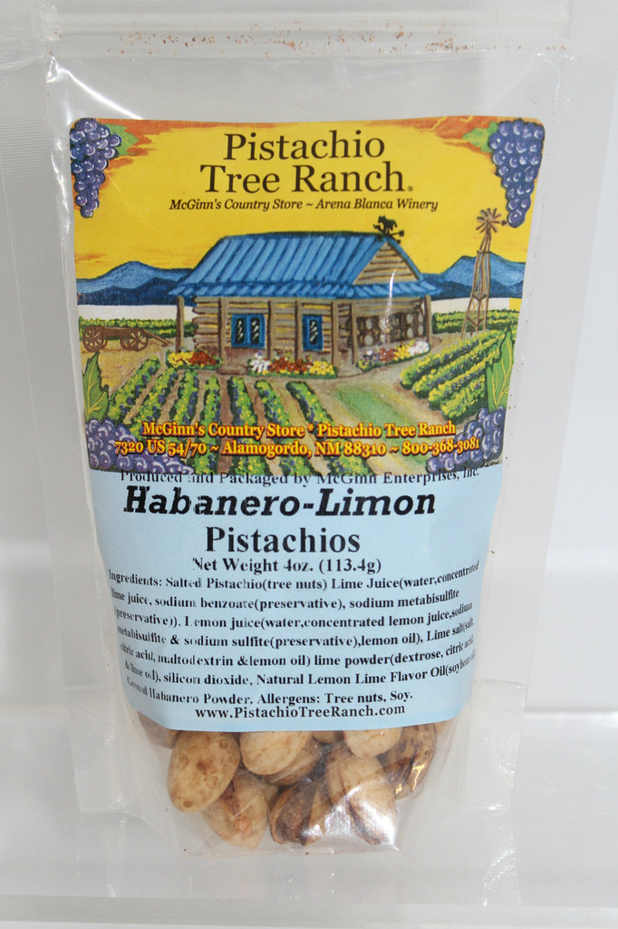 Spicy HOT Habanero Limon in shell flavors.