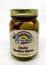 Garlic Stuffed Olives - Uniquely Gourmet