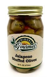 Jalapeno Stuffed Olives - Uniquely Gourmet