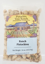 Ranch In-Shell Pistachios 16 oz. Poly Bag