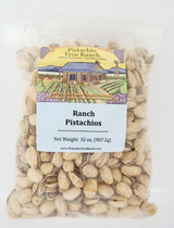 Ranch In-Shell Pistachios 32. oz Poly Bag
