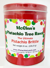 """The Ultimate"" Pistachio Brittle/ 8 oz. Can"