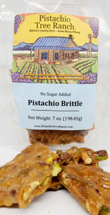 Our Delicious Pistachio Brittle without the Sugar. NOTE: Pistachios and other nuts contain natural sugars from carbohydrates (fiber, protein).