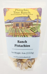 Ranch In-Shell Pistachios 4 oz. Poly Bag