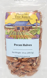 Pecan Halves 10 oz. Unsalted