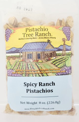 Spicy Ranch In-Shell Pistachios 8 oz. Poly Bag