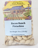 Bacon Ranch In-Shell Pistachios 8 oz. Poly Bag