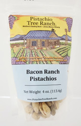 4 oz. bacon ranch in-shell pistachios.