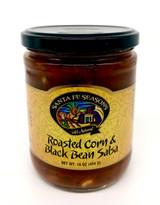 Roasted Corn & Black Bean Salsa -Santa Fe Seasons