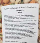 The Works In-Shell Pistachios 5 lb. Poly Bag