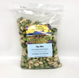 The Mix: Green Chili & Garlic In-Shell Pistachios 32 oz. Poly Bag