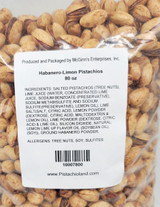 Habanero-Limon In-Shell Pistachios 5 lb. Poly Bag