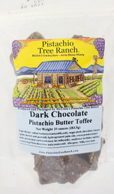 Dark Chocolate Pistachio Butter Toffee- 10 oz