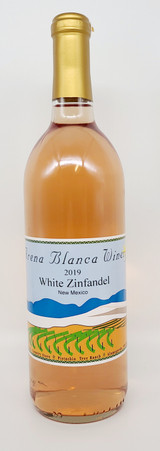 Fruity, semi-sweet White Zinfandel made from our Zinfandel grapes.