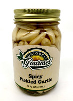 Spicy Pickled Garlic - Uniquely Gourmet