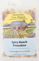 Spicy Ranch In-Shell Pistachios 8 oz.