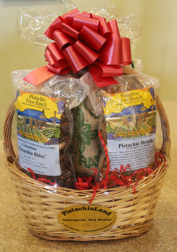 Gift #9 - Pistachio Nuts and Candy Gift Basket