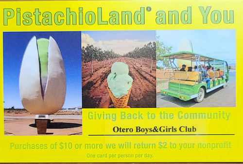 PistachioLand and You: Giving Back to the Community
