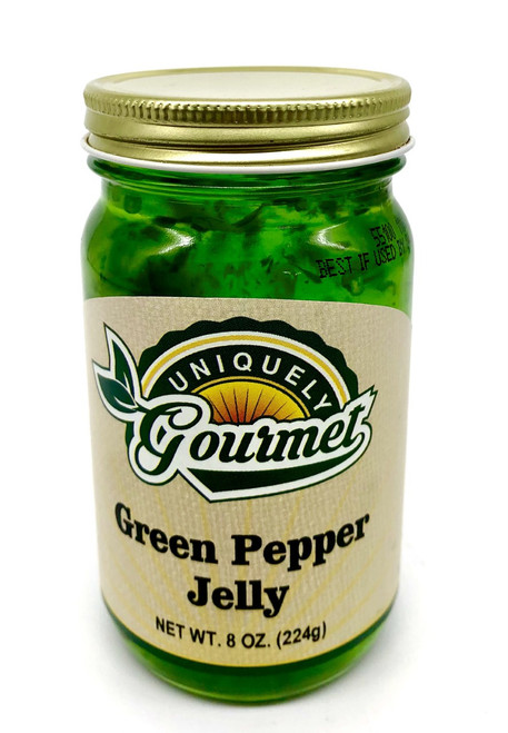 Green Pepper Jelly - Uniquely Gourmet