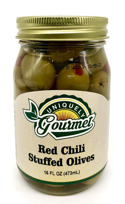 Red Chile Stuffed Olives