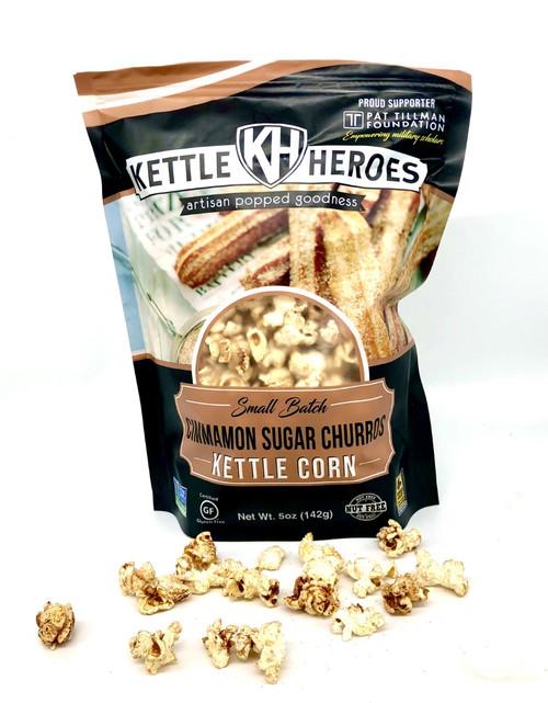 Cinnamon Sugar Churro Kettle Corn