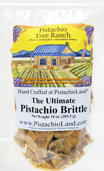 Our most popular candy. It is the ultimate! Crunchy, buttery brittle made on-site, by hand.