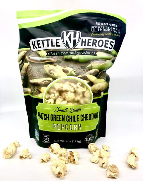 Hatch Green Chile Cheddar Popcorn