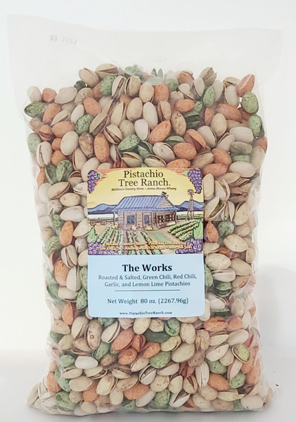 The Works In-Shell Pistachios 5 lb.