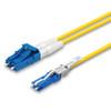 LC, CS® Duplex connectors, blue