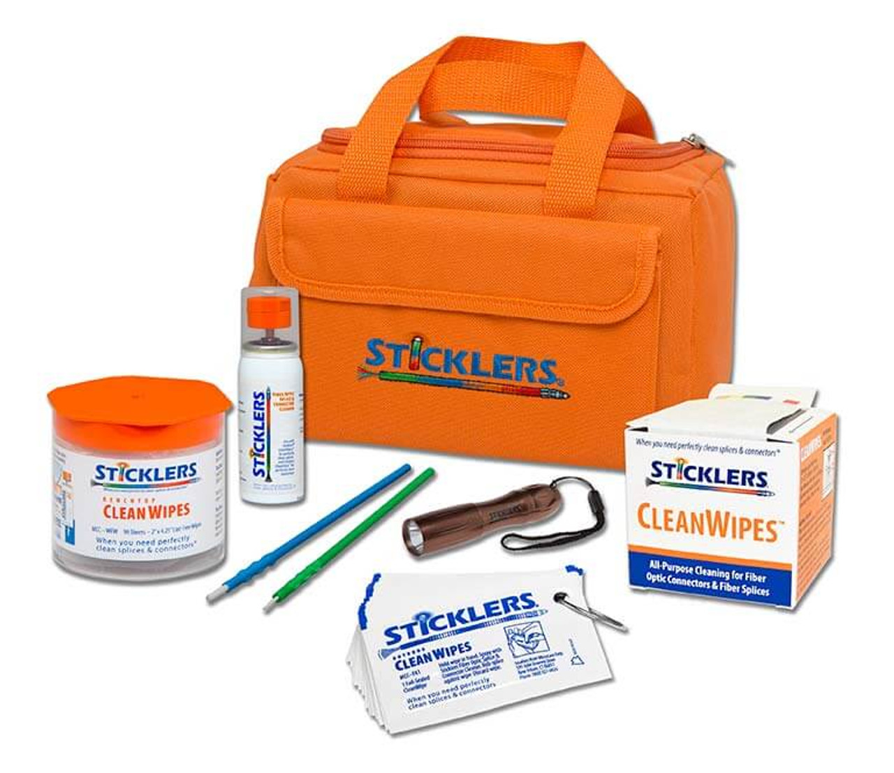 Sticklers™ Standard Fiber Optic Cleaning Kit (800+ Cleanings)