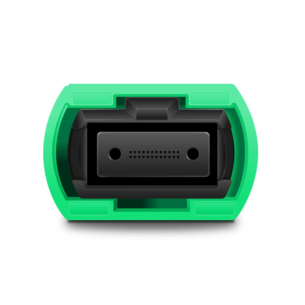 24 fiber MTP connector, green