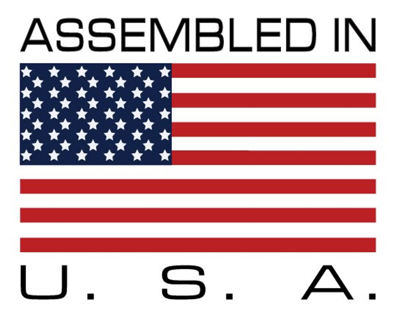 This AFP product is assembled in Palmer, MA, USA