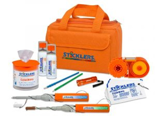 Sticklers™ Heavy-Duty Fiber Optic Cleaning Kit (2,300+ Cleanings)