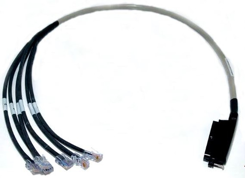 25 Pair Telco Cat 3 Hydra Cable 6 Legs RJ45 To 50 POS Female