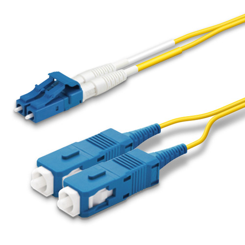 LC, SC Duplex connectors, blue