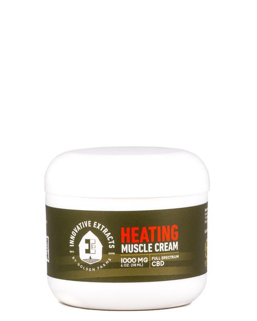 Muscle Cream - Heating 1000mg CBD