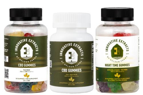 Three Gummies