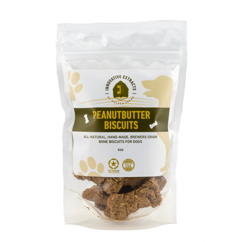 Peanutbutter Biscuits for Dogs