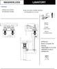 Designers Impressions 655731 Oil Rubbed Bronze Lavatory Vanity Faucet