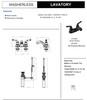 Designers Impressions 652369 Oil Rubbed Bronze Lavatory Vanity Faucet