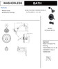 Designers Impressions 651657 Oil Rubbed Bronze Tub / Shower Combo Faucet