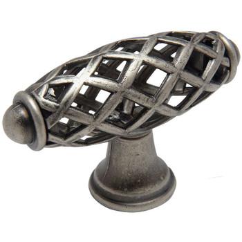 Cosmas 1749WN Weathered Nickel Birdcage Cabinet Knob