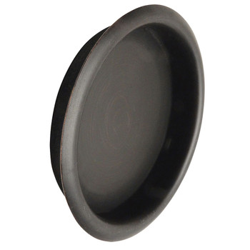 "Designers Impressions Oil Rubbed Bronze 2-1/8"" Pocket Door Cup Pull: 47651"