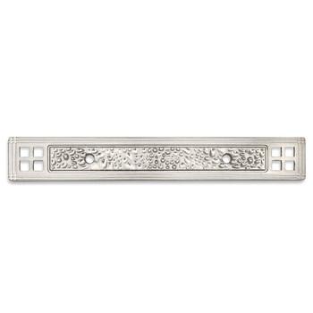 Cosmas 10554SN Satin Nickel Zinc Cabinet Pull Backplate